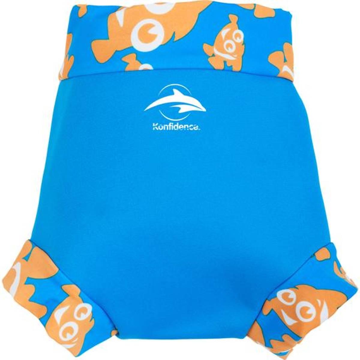 Konfidence Svømmebukse til Baby   Cyan/Clownfish   Large